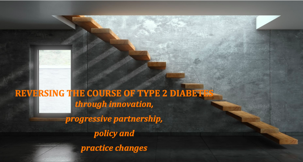 Reversing the course of type 2 diabetes graphic
